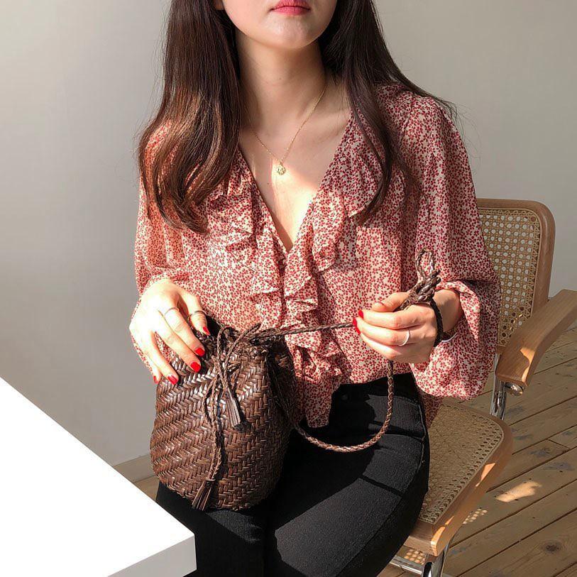 """Áo blouse """"bánh bèo chúa"""" dễ gây sốt diện rộng và 3 cách mặc bạn ..."""