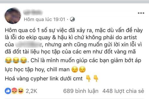 Bị tố đốt sách vở của học sinh trường Ams khi quay MV, dân mạng ném đá không thương tiếc rapper Việt - Ảnh 2.