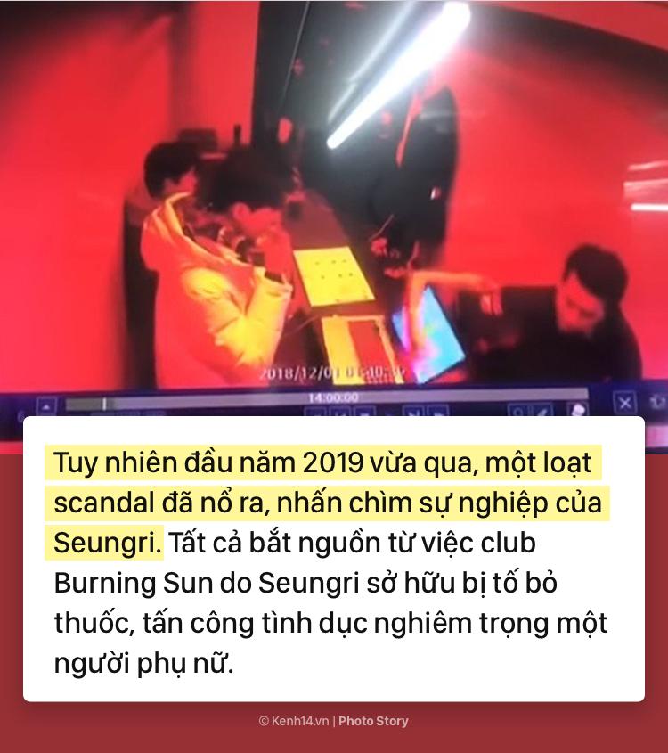 Cùng nhìn lại sự nghiệp thăng hoa của Seungri và chuỗi scandal đã khiến anh phải rút khỏi ngành giải trí - Ảnh 7.