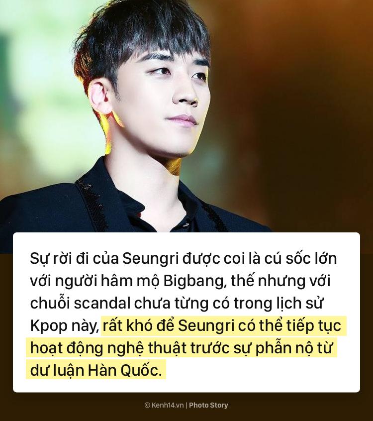 Cùng nhìn lại sự nghiệp thăng hoa của Seungri và chuỗi scandal đã khiến anh phải rút khỏi ngành giải trí - Ảnh 25.