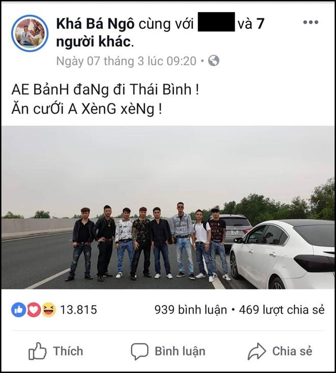 """Bị xử lý, Khá bảnh vẫn cãi cùn về việc dàn hàng chụp ảnh trên cao tốc: """"Đến đấy có làn đường đỗ xe nên Bảnh... đi vệ sinh thôi"""" - Ảnh 3."""