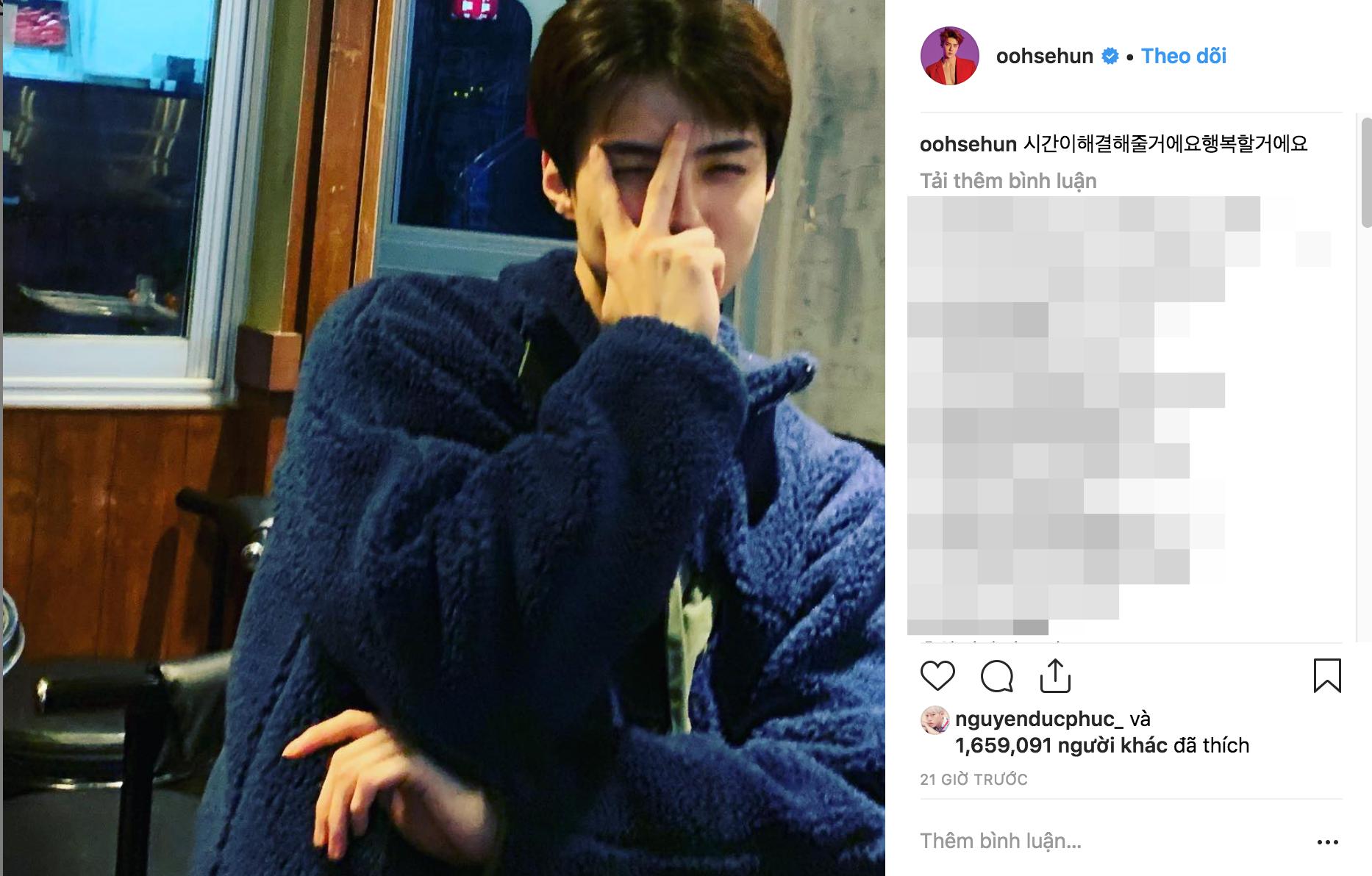 Netizen Hàn lại thuyết âm mưu: Sehun (EXO) chỉ đăng 1 bức ảnh liền bị ném đá vì cho rằng đang ủng hộ Seungri - Ảnh 1.