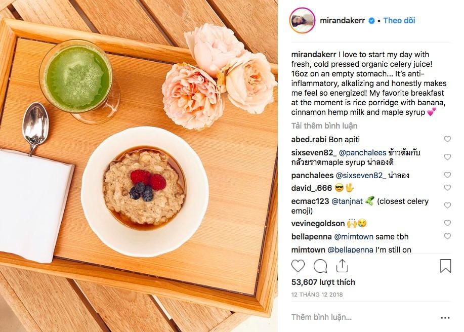 Trào lưu đang nở rộ trên Instagram: nước ép cần tây được rất nhiều ngôi sao tin tưởng cho công cuộc giữ dáng, làm đẹp da - Ảnh 2.