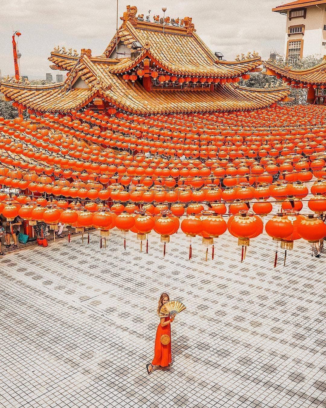 Phát hiện triệu góc check-in thần thánh ở ngôi chùa đèn lồng hot nhất Kuala Lumpur - Ảnh 7.