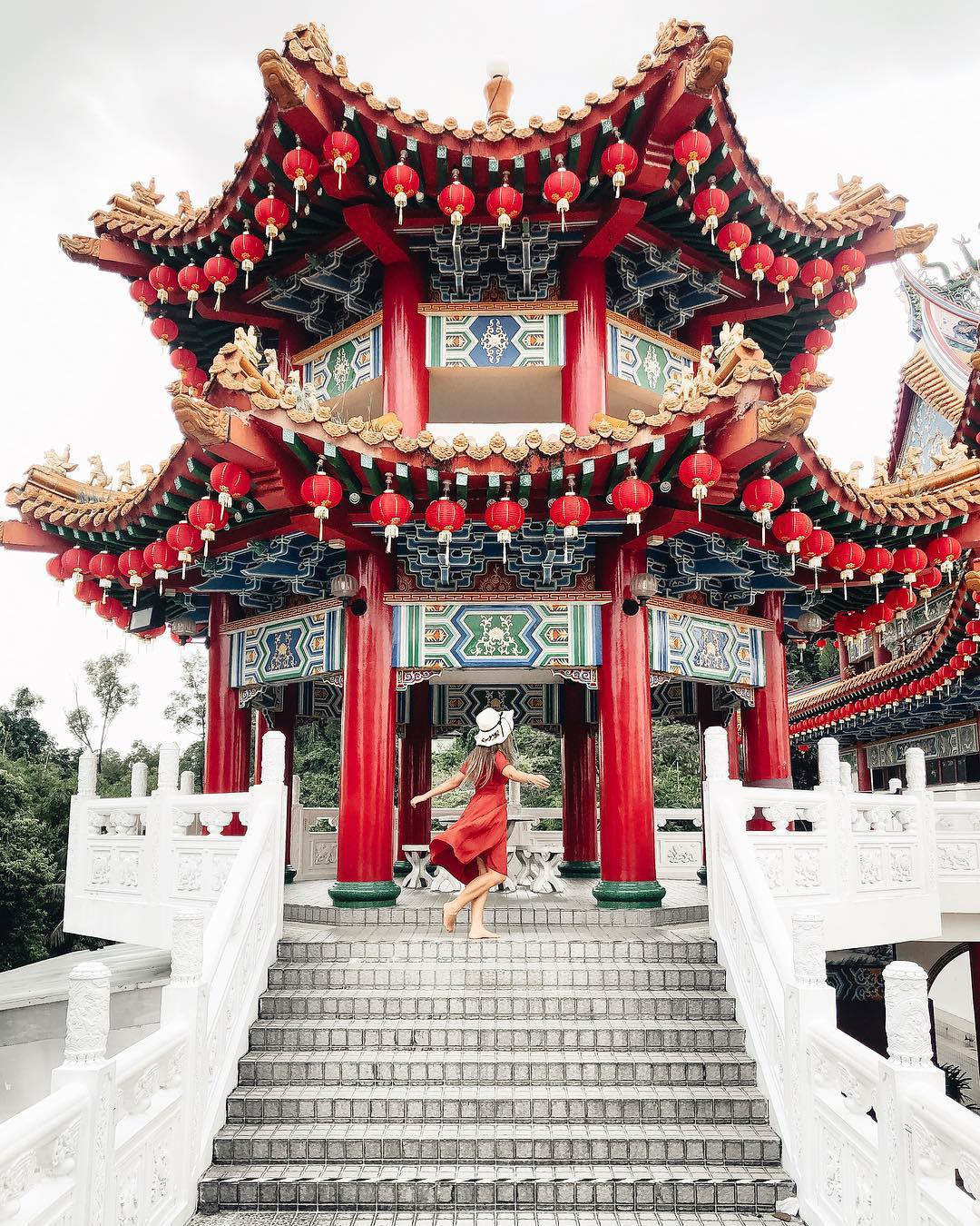 Phát hiện triệu góc check-in thần thánh ở ngôi chùa đèn lồng hot nhất Kuala Lumpur - Ảnh 15.