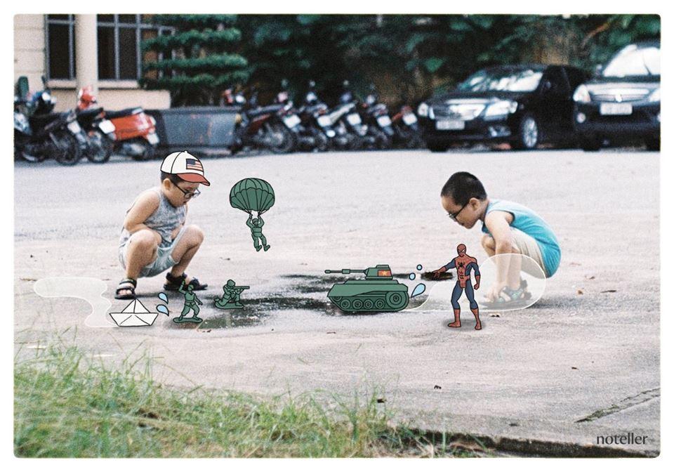 Ngắm một Hà Nội quen mà lạ trong bộ ảnh này, ai cũng xuýt xoa: Đúng là dễ thương quá đi thôi! - Ảnh 11.