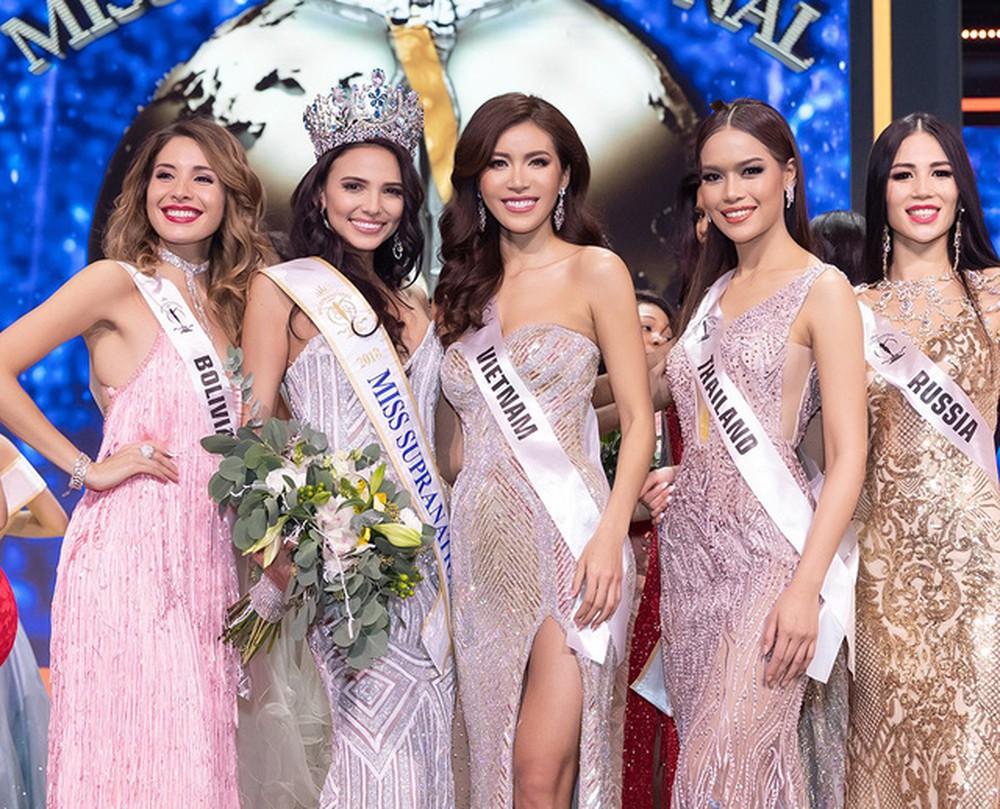 Tân Hoa hậu Siêu quốc gia 2018 phản ứng bất ngờ về loạt scandal của Minh Tú tại Miss Supranational 2018 - Ảnh 2.