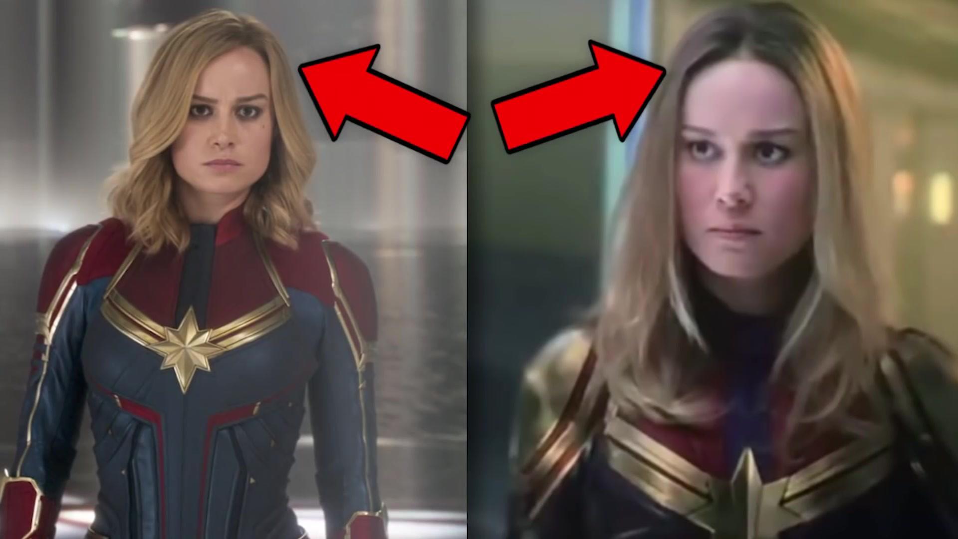 Có ai nhận ra ngày Captain Marvel trở về trái đất, chị đại bỗng được mông má xinh hơn hẳn? - Ảnh 3.