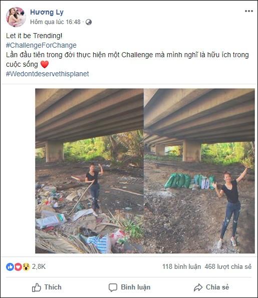 Quán quân Next Top Hương Ly tham gia thử thách dọn rác dưới chân cầu Phú Mỹ: Gia đình, bạn bè nói mình khùng và lì - Ảnh 2.
