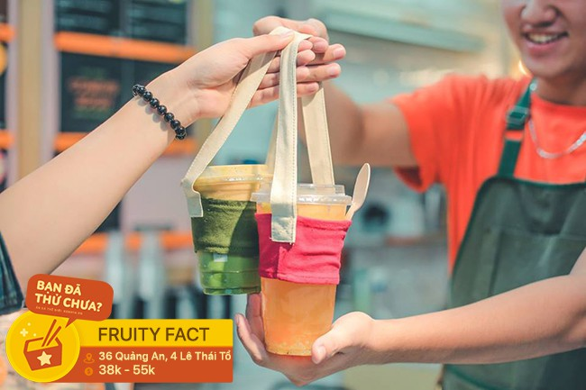 Mang bình đi uống nước để được giảm giá: trào lưu bảo vệ môi trường đang xuất hiện ở nhiều quán đồ uống tại Hà Nội - Ảnh 2.