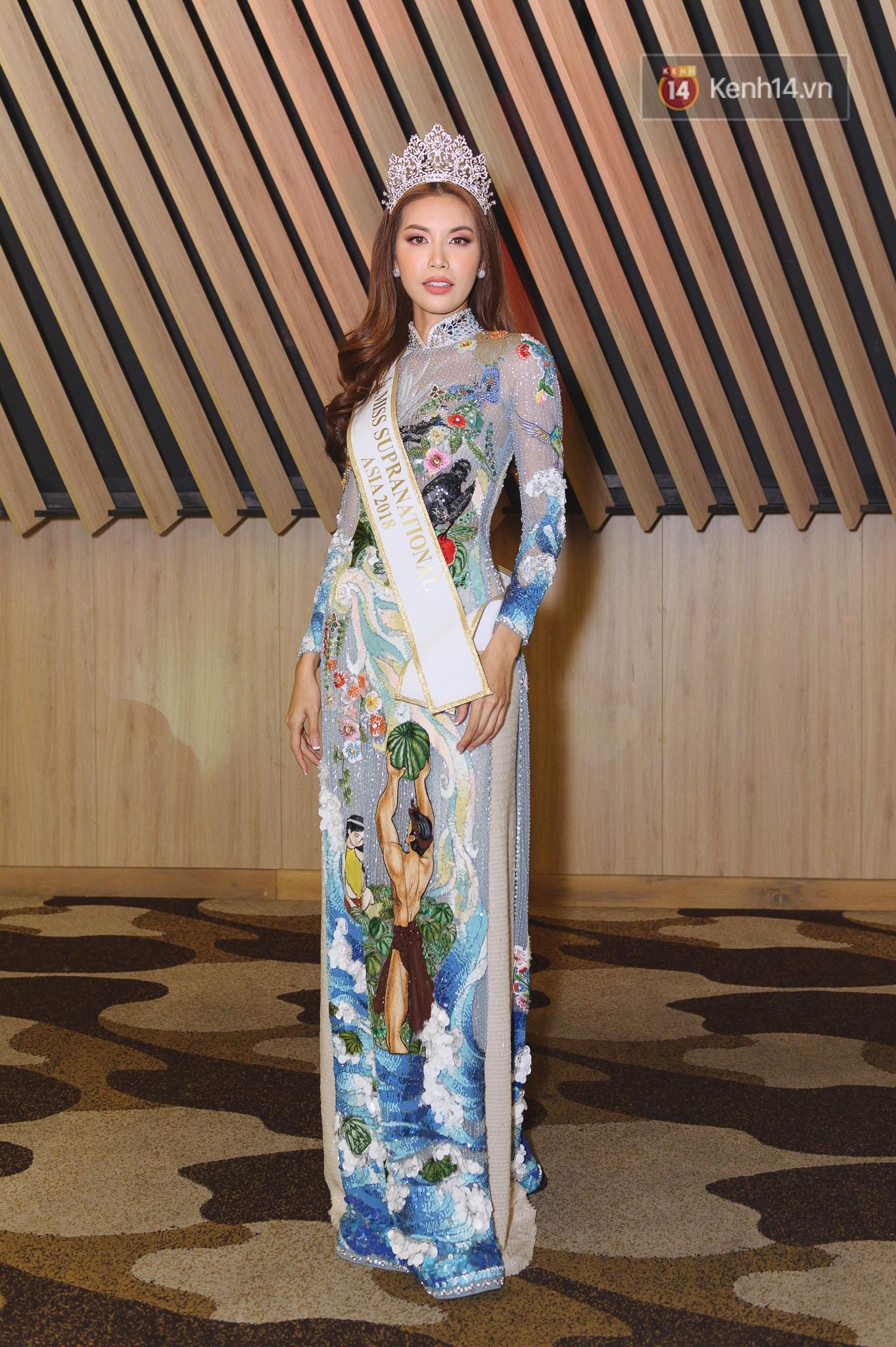 Tân Hoa hậu Siêu quốc gia 2018 phản ứng bất ngờ về loạt scandal của Minh Tú tại Miss Supranational 2018 - Ảnh 8.