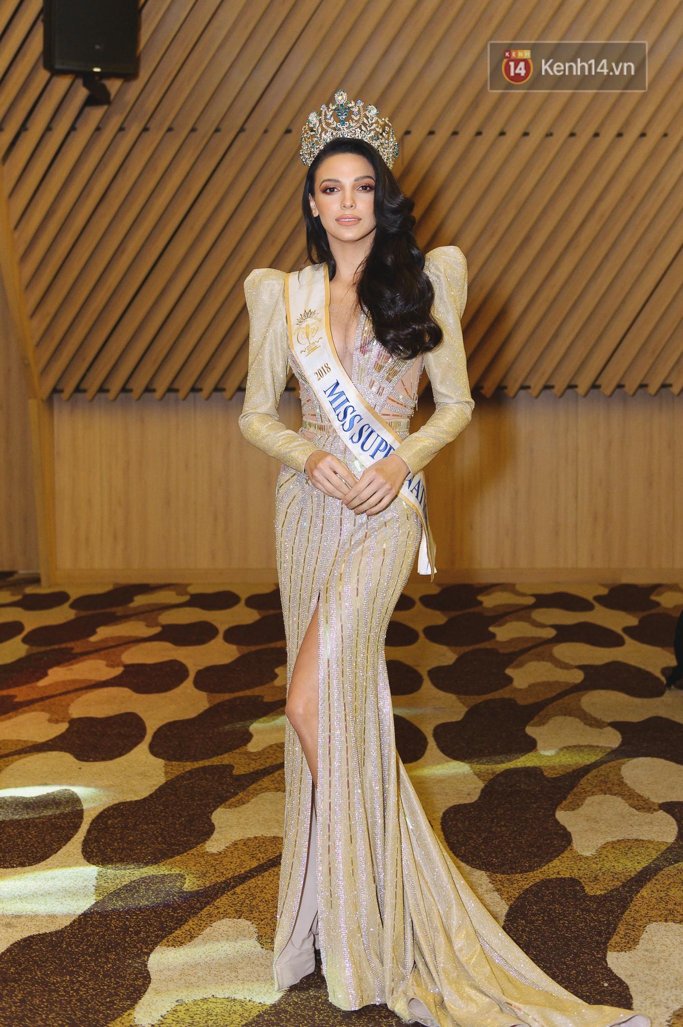 Tân Hoa hậu Siêu quốc gia 2018 phản ứng bất ngờ về loạt scandal của Minh Tú tại Miss Supranational 2018 - Ảnh 4.