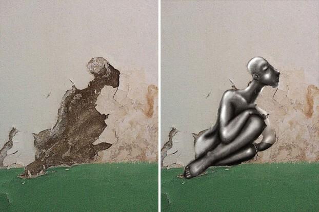 Trải qua ảo giác khuôn mặt Pareidolia ở mọi nơi, họa sĩ Nga bèn vẽ lại cho mọi người cùng xem - Ảnh 8.