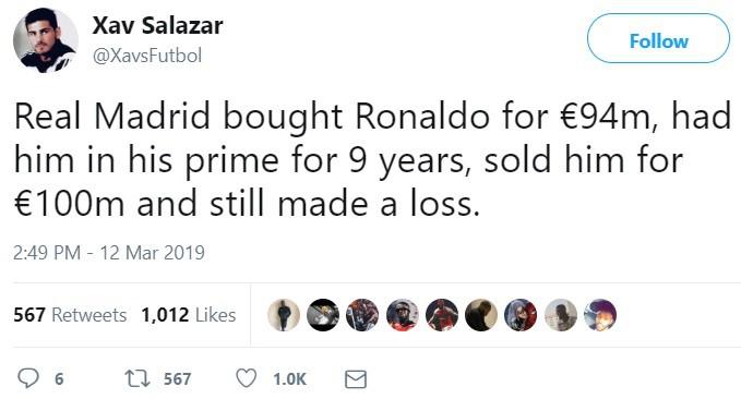 Ronaldo lập đại kỳ tích, Real Madrid chẳng liên quan cũng bị chọc quê - Ảnh 4.