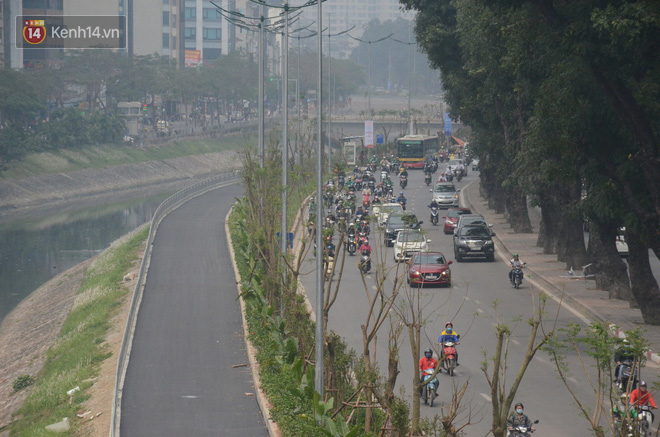 Hà Nội: Cận cảnh tuyến đường dài 4km cạnh sông Tô Lịch chỉ dành cho người đi bộ và xe đạp - Ảnh 1.