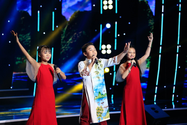 Tuyệt đỉnh song ca nhí: 2 tiểu Hòa Minzy khiến khán giả nổi da gà - Ảnh 3.