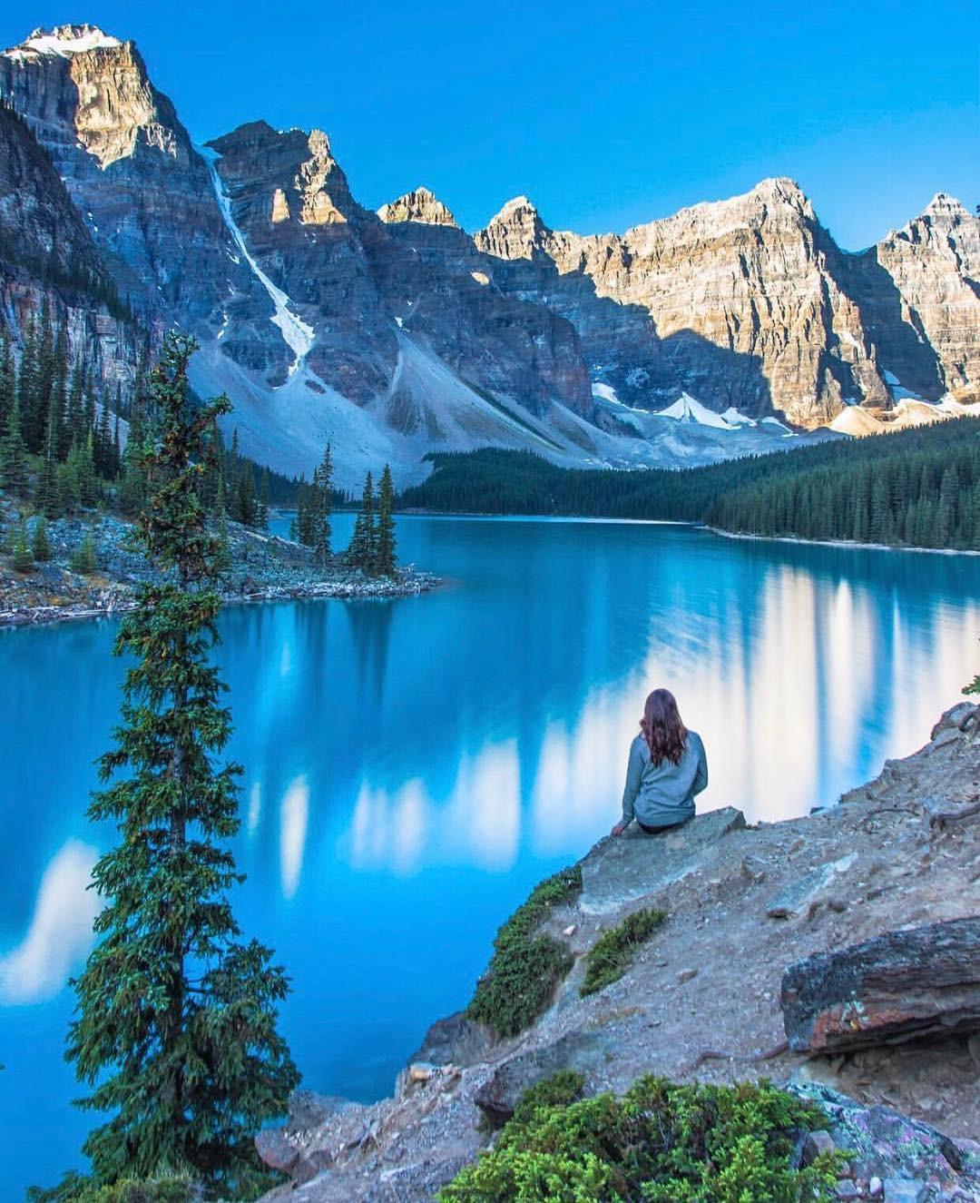 Có gì hay ở hồ nước màu xanh ngọc bích được mệnh danh là thiên đường trần gian ở Canada? - Ảnh 9.