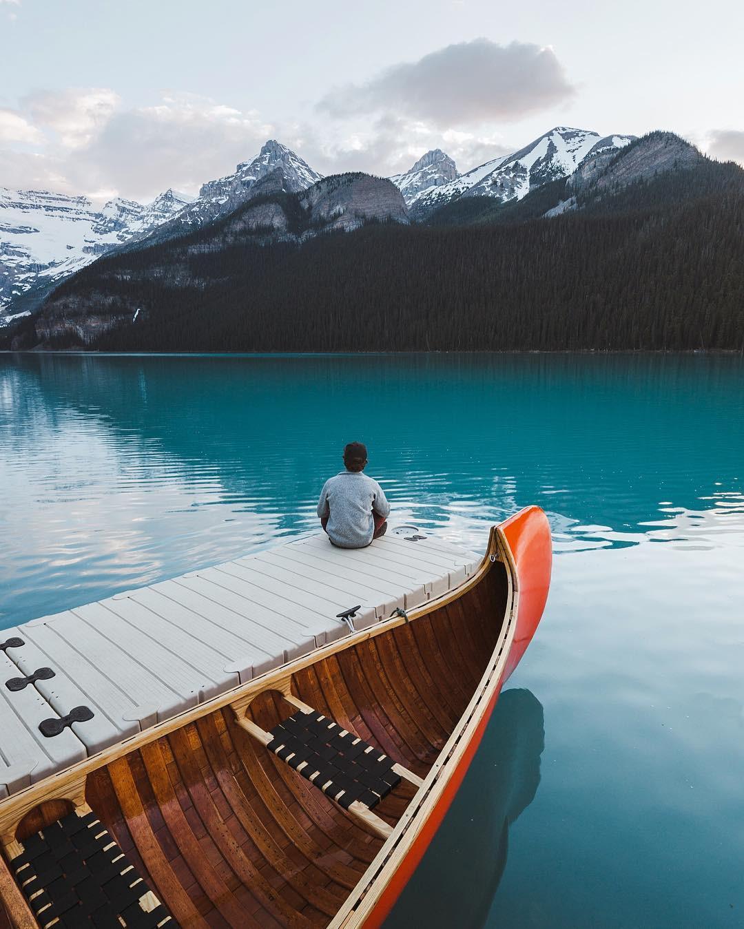 Có gì hay ở hồ nước màu xanh ngọc bích được mệnh danh là thiên đường trần gian ở Canada? - Ảnh 8.