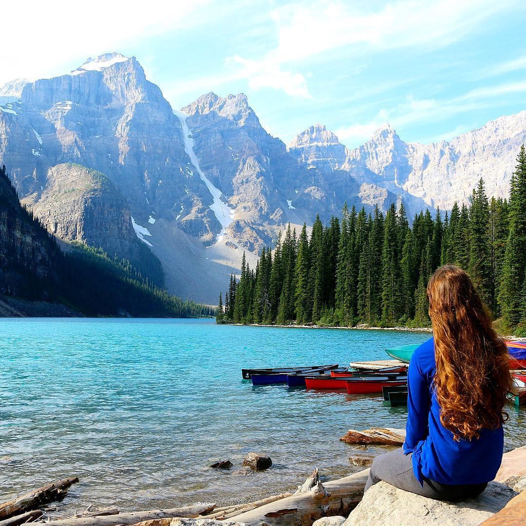 Có gì hay ở hồ nước màu xanh ngọc bích được mệnh danh là thiên đường trần gian ở Canada? - Ảnh 15.