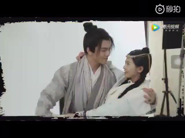 Trên phim toàn mỹ nhân vẩy thính, ai ngờ Trương Vô Kỵ ngoài đời siêu... đơ bên cạnh con gái thế này? - Ảnh 2.