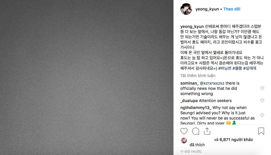 Chị đại Taeyeon cùng loạt sao Hàn công khai đá xéo, phê phán Seungri, Jung Joon Young giữa tâm bão scandal - Ảnh 9.