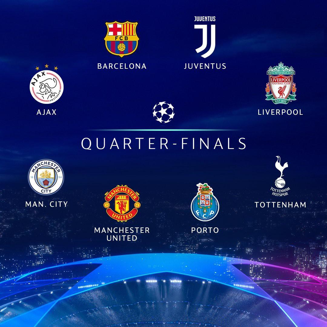 Kết quả bốc thăm tứ kết Champions League: Ronaldo cùng Juventus dễ thở, MU phải gặp đối thủ khó nhất - Ảnh 2.