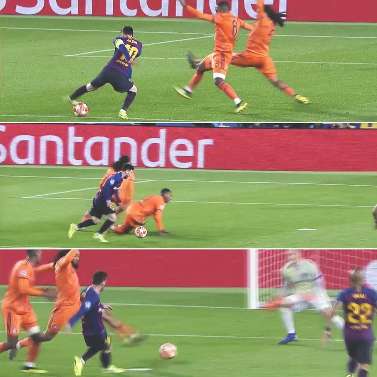 Ronaldo gọi, Messi trả lời: Bọ chét nguyên tử trình diễn phong độ thần thánh trong chiến thắng hủy diệt 5-1 trước Lyon (Pháp) - Ảnh 9.