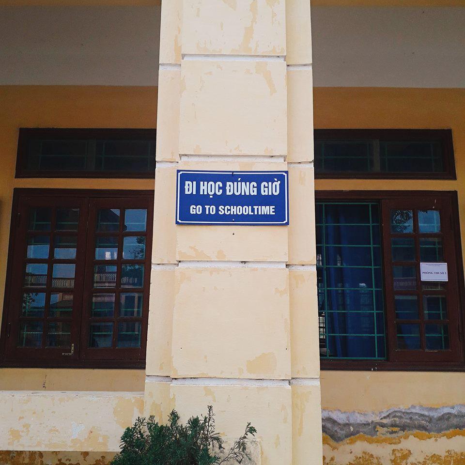 Xuất hiện khẩu hiệu Tiếng Anh được dịch bằng Google Translate sai bét nhè tại một trường học - Ảnh 2.