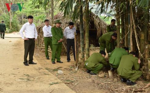 Vụ cài mìn ở Phú Thọ: Đối tượng bắt nhốt, đánh đập người yêu nhiều lần - Ảnh 2.