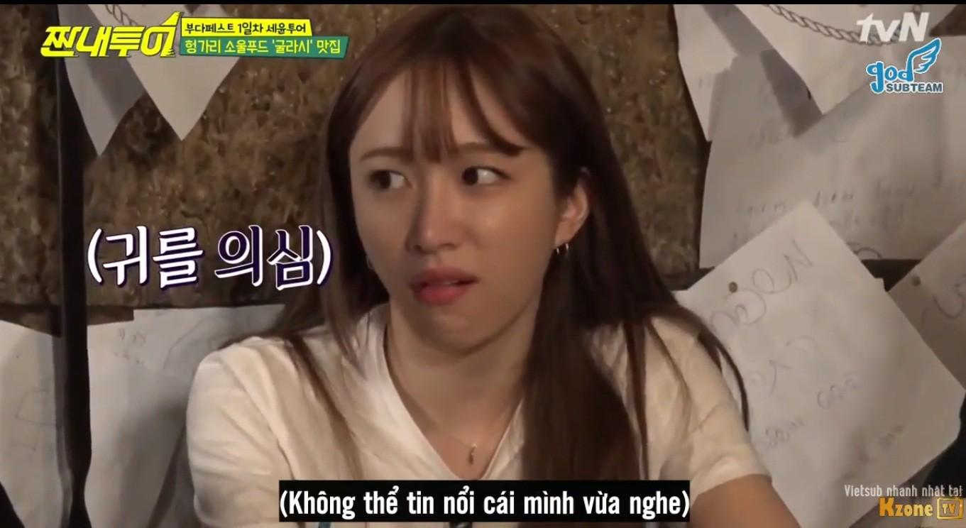 Cư dân mạng thích thú với phản ứng của Hani (EXID) trước câu nói đùa đen tối của Jung Joon Young - Ảnh 2.