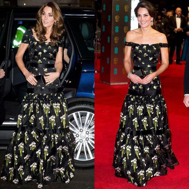 """Kate Middleton khiến dân tình """"phục lăn"""" vì chế lại váy quá sức tài tình, đạt ngưỡng đỉnh cao tiết kiệm như Công nương Diana - Ảnh 5."""