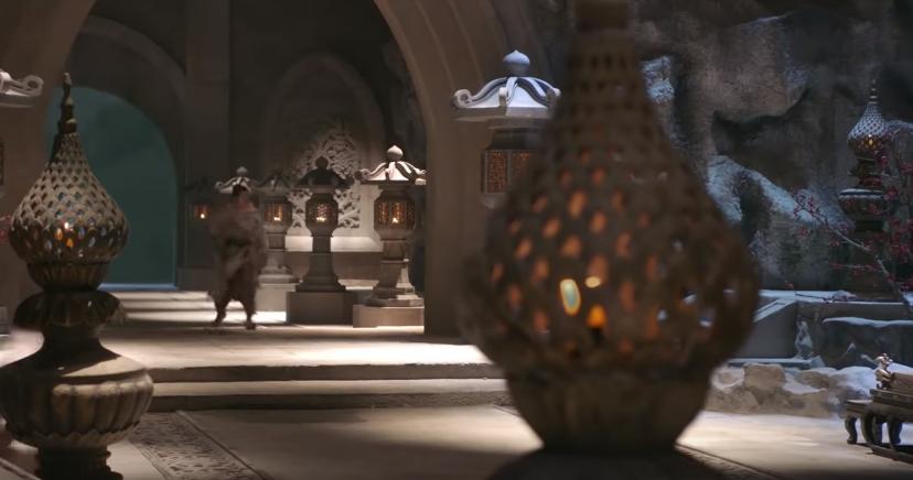 Ngạc nhiên chưa, khi mà cả võ lâm còn thắp sáng bằng nến thì Minh Giáo của Tân Ỷ Thiên Đồ Long Ký 2019 đã dùng hẳn... đèn pha - Ảnh 6.