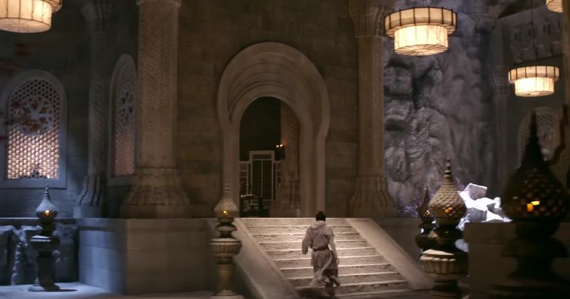 Ngạc nhiên chưa, khi mà cả võ lâm còn thắp sáng bằng nến thì Minh Giáo của Tân Ỷ Thiên Đồ Long Ký 2019 đã dùng hẳn... đèn pha - Ảnh 7.