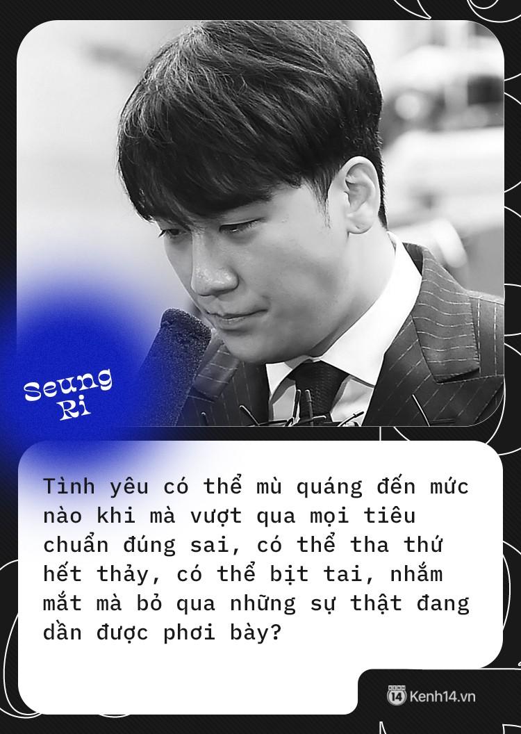 Gửi những người vẫn ngoan cố tin rằng Seungri vô tội: Đừng bao che cho sự sai trái chỉ vì anh là một phần đam mê tuổi trẻ - Ảnh 5.