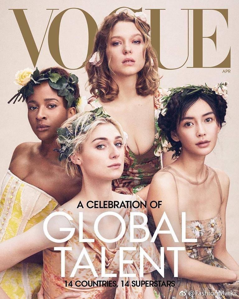 Angela Baby xuất sắc trở thành sao Trung đầu tiên lên bìa Vogue Mỹ danh tiếng, đọ sắc cùng 6 mỹ nhân quyền lực - Ảnh 1.