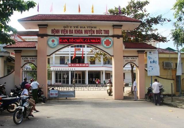 Phó giám đốc bệnh viện huyện ở Hà Tĩnh tử vong trong tư thế treo cổ - Ảnh 1.