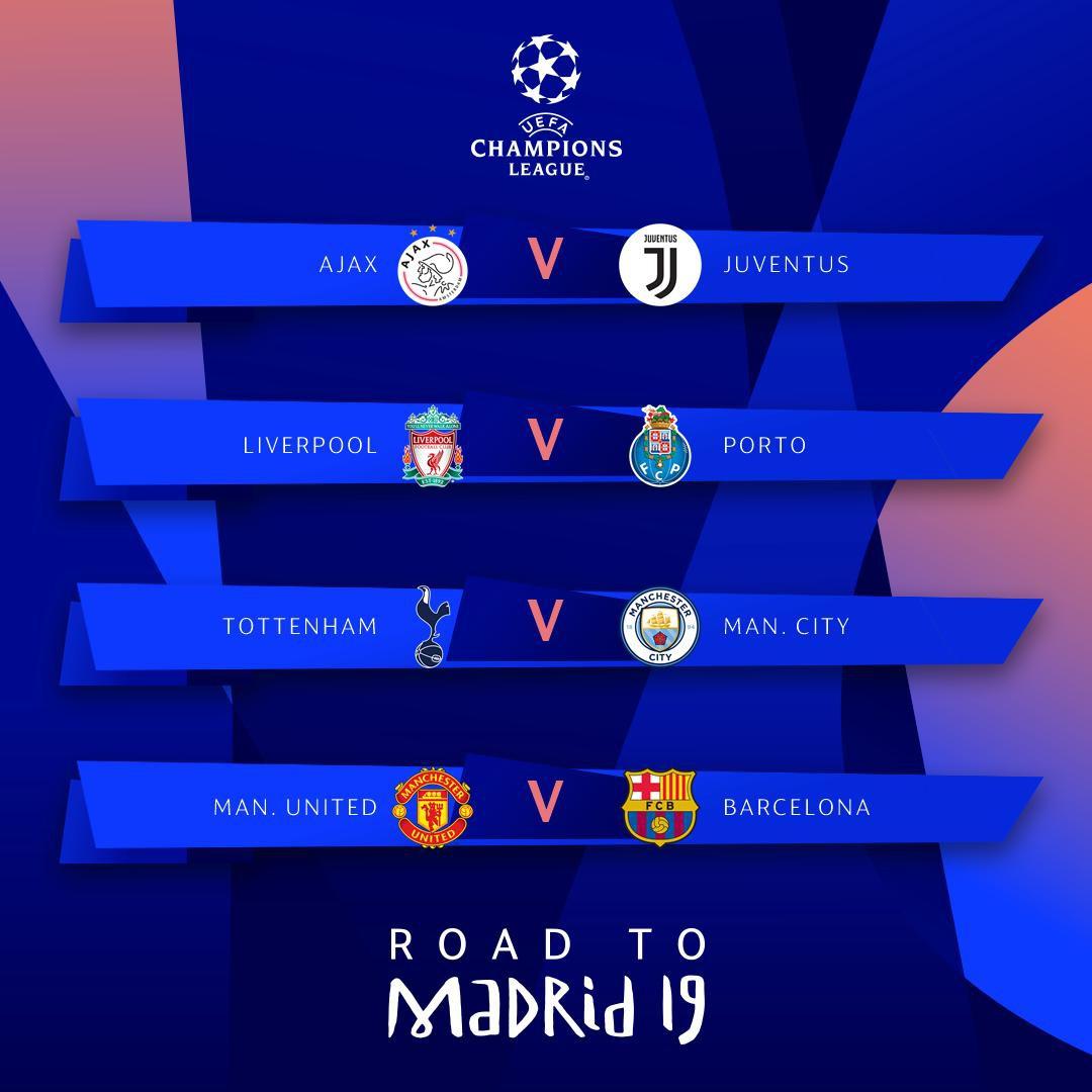 Kết quả bốc thăm tứ kết Champions League: Ronaldo cùng Juventus dễ thở, MU phải gặp đối thủ khó nhất - Ảnh 1.