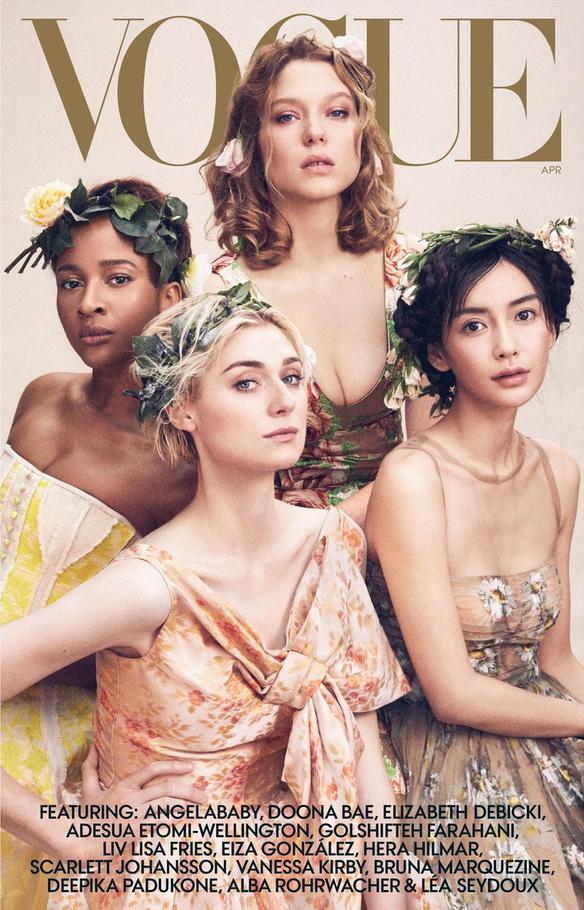 """Không phải Angela Baby, đây mới là sao Hoa ngữ lên bìa Vogue Mỹ cùng cả loạt mỹ nhân đình đám mà không hề bị """"dìm"""" - Ảnh 1."""