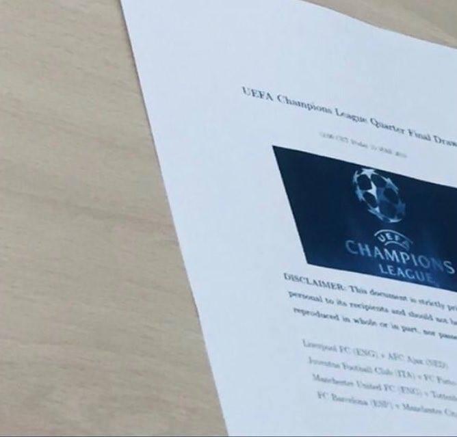 Kết quả bốc thăm tứ kết Champions League: Ronaldo cùng Juventus dễ thở, MU phải gặp đối thủ khó nhất - Ảnh 14.