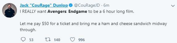 Netizen ghép đôi chị đại Marvel và Sấm Thỏ, đòi Avengers: Endgame dài 6 tiếng sau trailer thứ 2 - Ảnh 5.