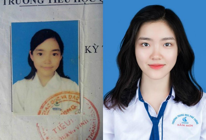 Nữ sinh Thanh Hoá nổi như cồn với bức ảnh thẻ xinh như hotgirl, đã vậy còn học giỏi, hát hay và là cao thủ võ thuật - Ảnh 1.
