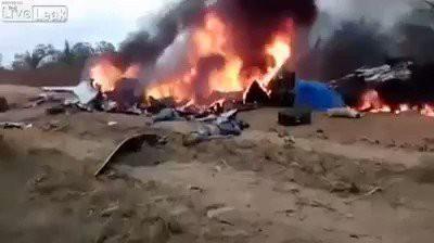 Sự thật về clip chấn động máy bay Ethiopia nổ tung đang gây xôn xao MXH - Ảnh 4.
