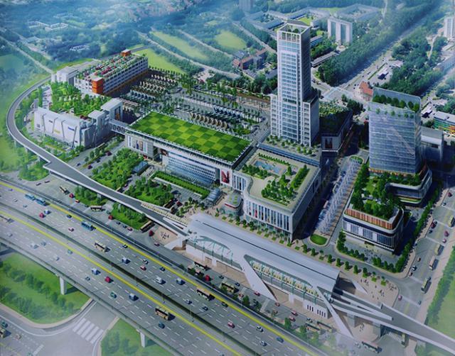 Cận cảnh bến xe Miền Đông lớn nhất Việt Nam đang dần thành hình, tổng vốn đầu tư 4 nghìn tỷ - Ảnh 2.