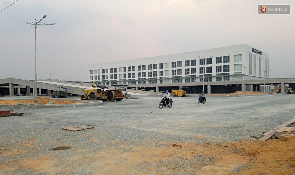 Cận cảnh bến xe Miền Đông lớn nhất Việt Nam đang dần thành hình, tổng vốn đầu tư 4 nghìn tỷ - Ảnh 13.