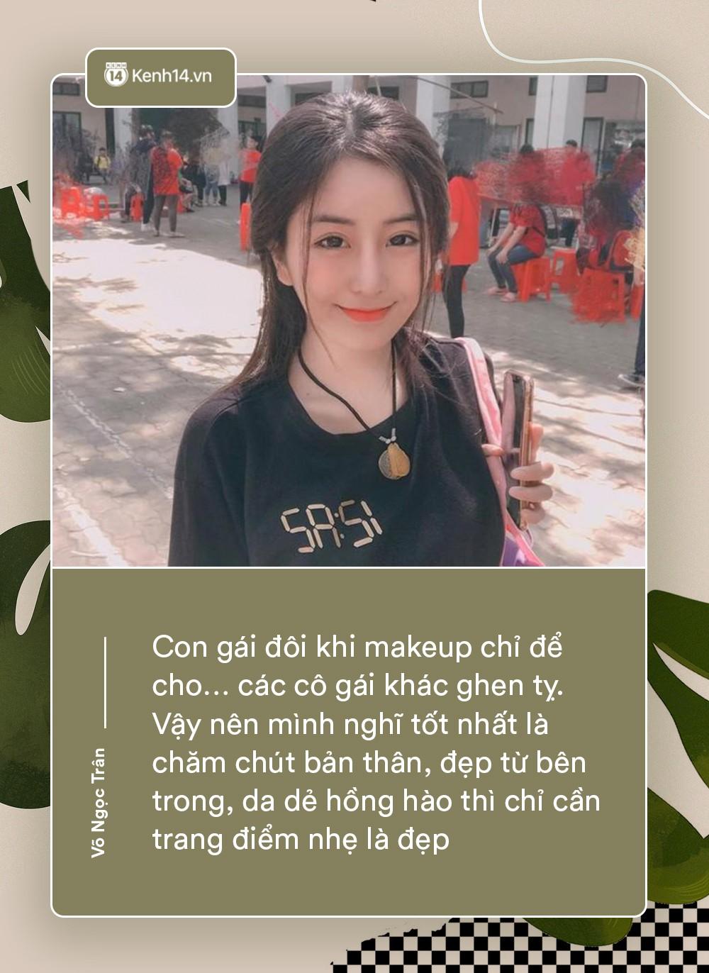 Võ Ngọc Trân - nữ sinh cấp 3 đang hot nhất Sài Gòn: Không cần người đẹp trai và quá giàu có, vì mình có thể kiếm được tiền - Ảnh 8.