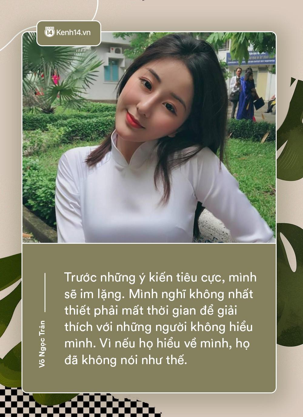 Võ Ngọc Trân - nữ sinh cấp 3 đang hot nhất Sài Gòn: Không cần người đẹp trai và quá giàu có, vì mình có thể kiếm được tiền - Ảnh 4.
