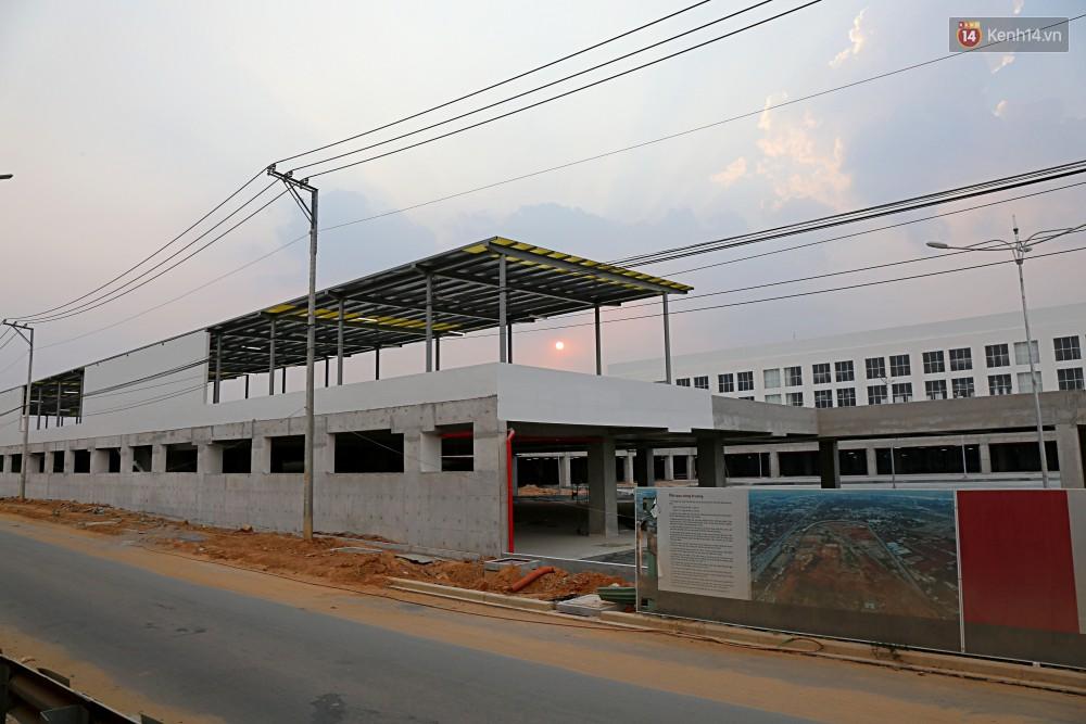 Cận cảnh bến xe Miền Đông lớn nhất Việt Nam đang dần thành hình, tổng vốn đầu tư 4 nghìn tỷ - Ảnh 15.