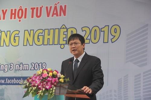 Thứ trưởng Lê Hải An phát biểu tại Ngày hội