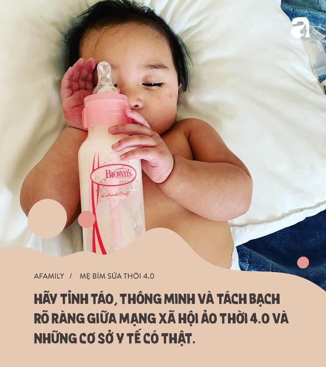 Mặt trái mẹ bỉm sữa thời 4.0: Xem mạng xã hội là bệnh viện nhi khoa, còn hội chị em là chuyên gia y tế - Ảnh 6.