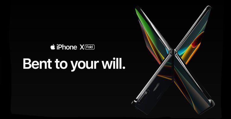 Chiêm ngưỡng concept iPhone màn hình gập không viền biến hình cực chất, Samsung hãy đợi đấy! - Ảnh 2.